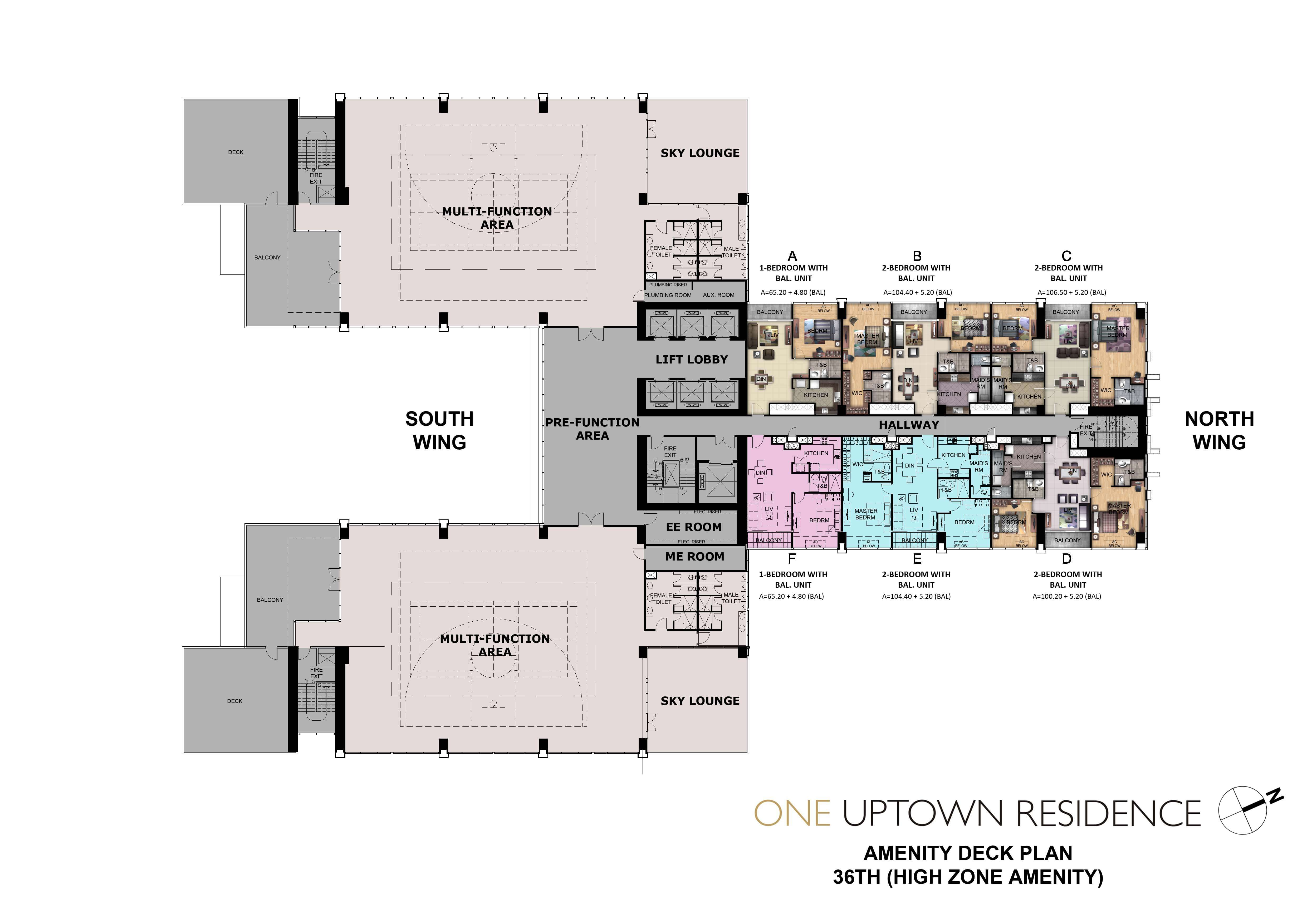 One Uptown Residence-Floor-Plans-Condos-for-sale-36TH