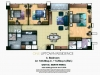 One Uptown Residence Unit Layout 3BR (151sqm) EDITED