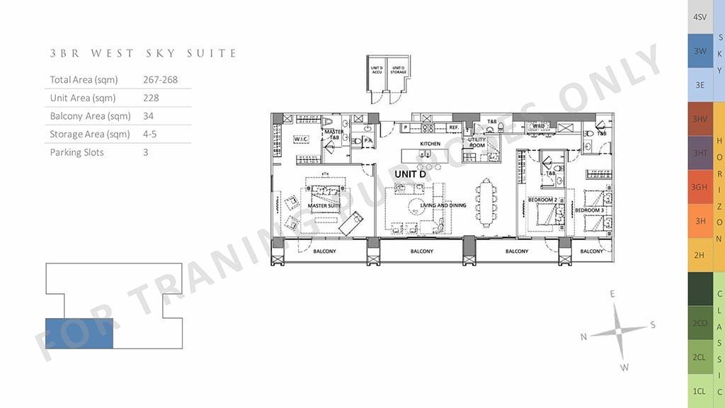 3br west sky suite at parklinks pasig city and quezon city
