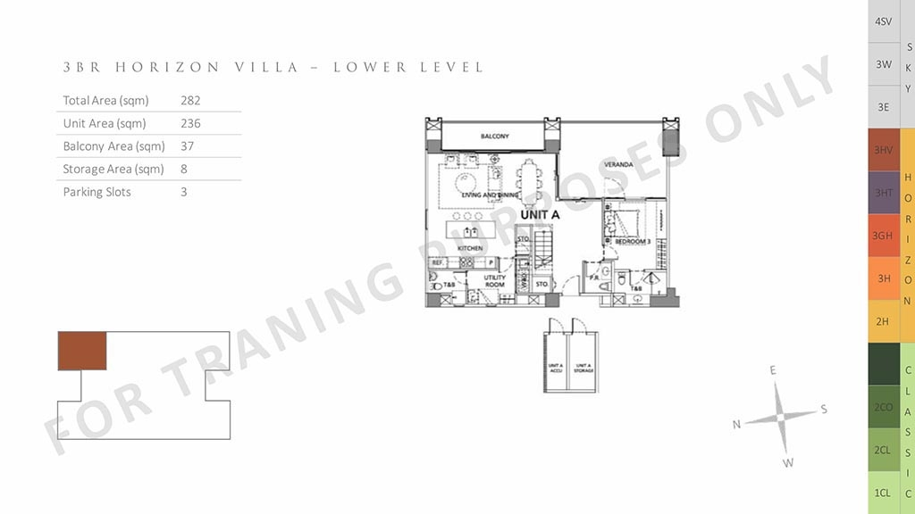 parklinks north tower unit layout