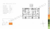 unit layout 3br horizon suite preselling condo for sale