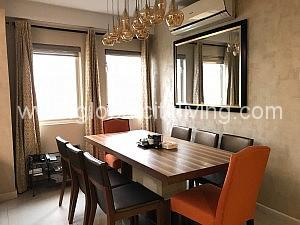 Dining Two Bedroom Condo For Rent at Tuscany Mckinley Hill Fort Bonifacio