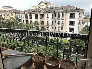 Two Bedroom Condo For Rent with Balcony at Tuscany Mckinley Hill Fort Bonifacio