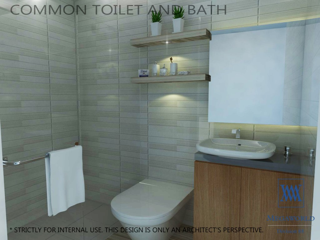 UPTOWN PARKSUITES-COMMON-TOILET AND-BATH-condos-for-sale-bgc-fort-bonifacio-global-city-taguig