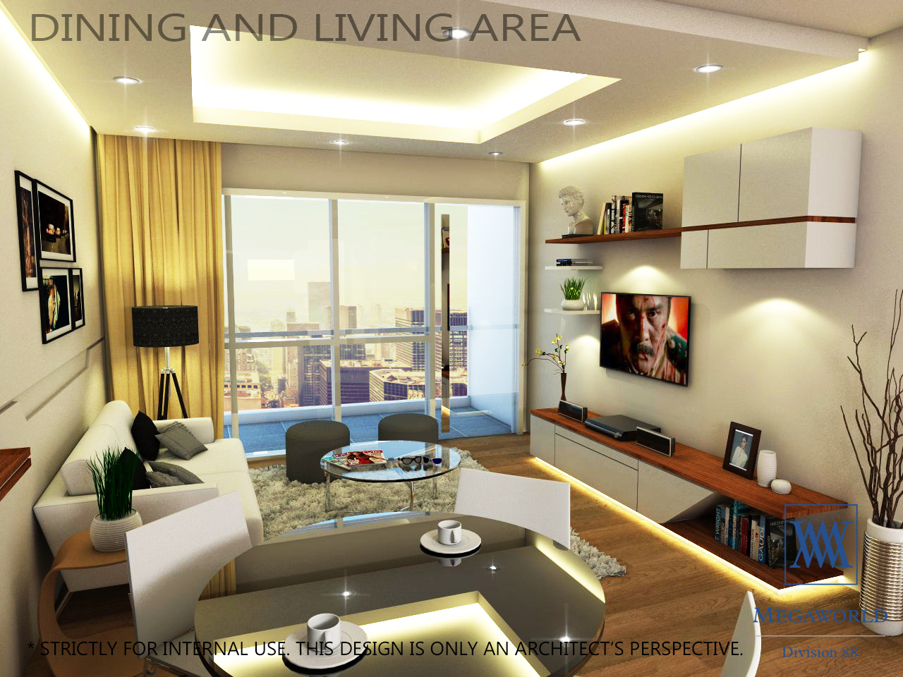 ... DINING AND LIVING AREA Condos For Sale Bgc Fort ...