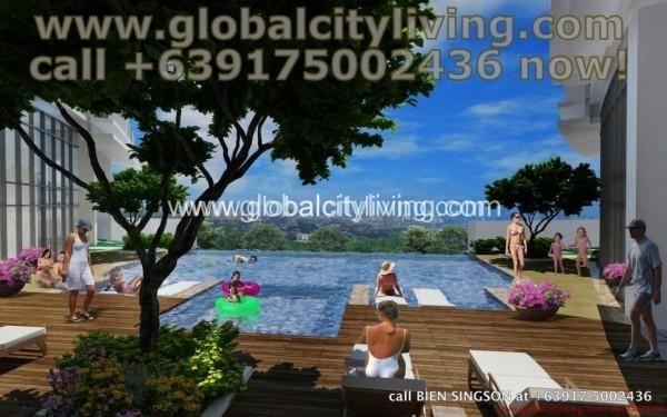 pool-deck-2-condos-for-sale-philippines-florence-mckinley-hill