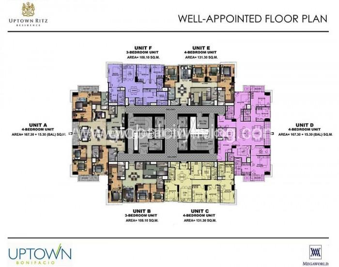 uptown-ritz-condos-for-sale-bgc-fort-floor-plan
