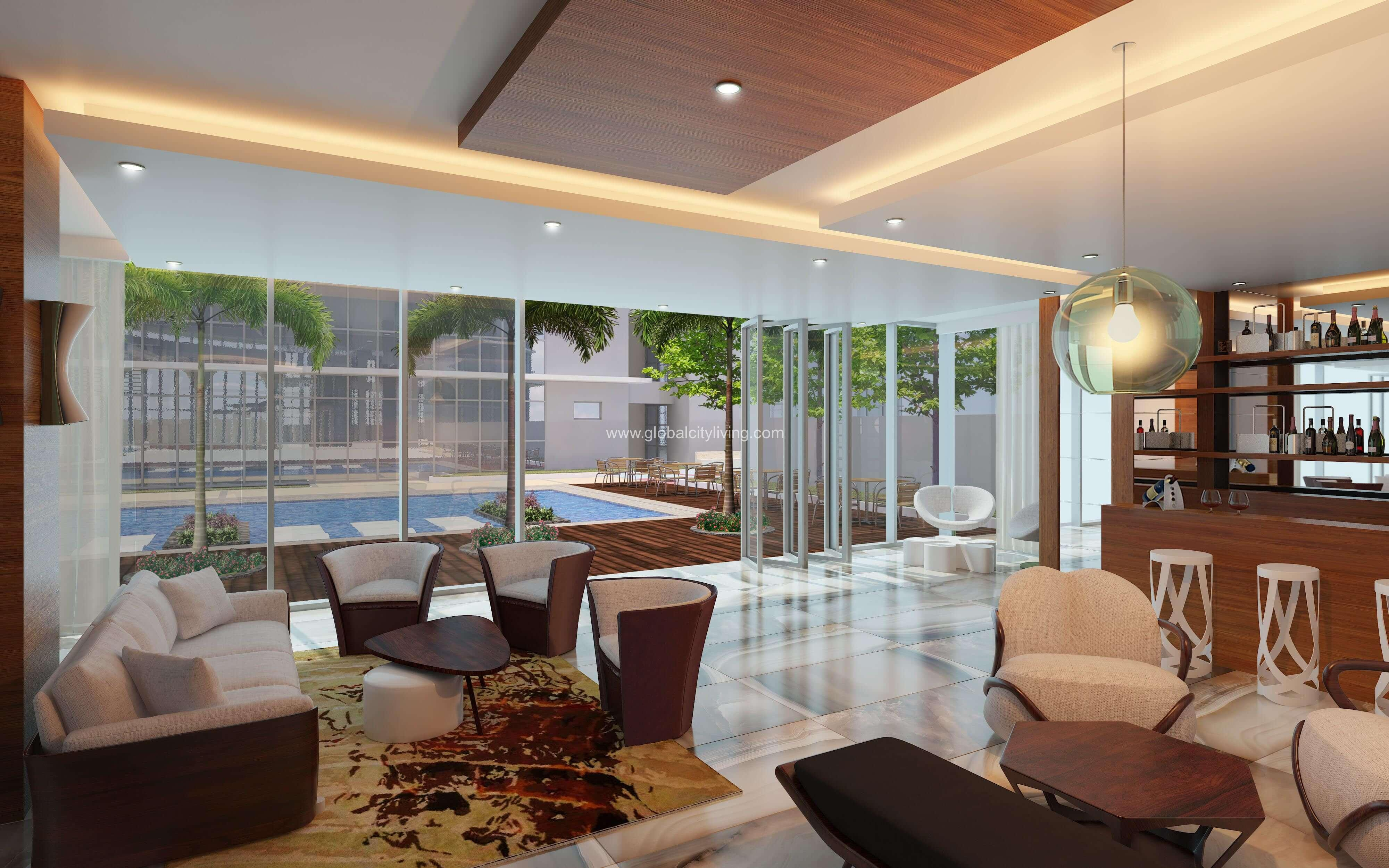 Lovely Suite BGC Center near Burgos Circle   WiFi Manila Philippines