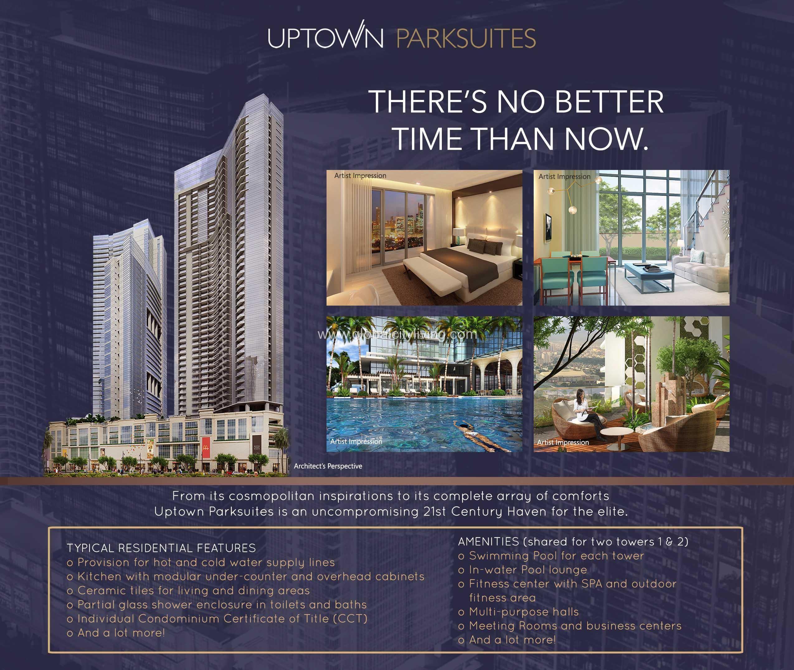 Condo Rentals In: Uptown Parksuites In Global City