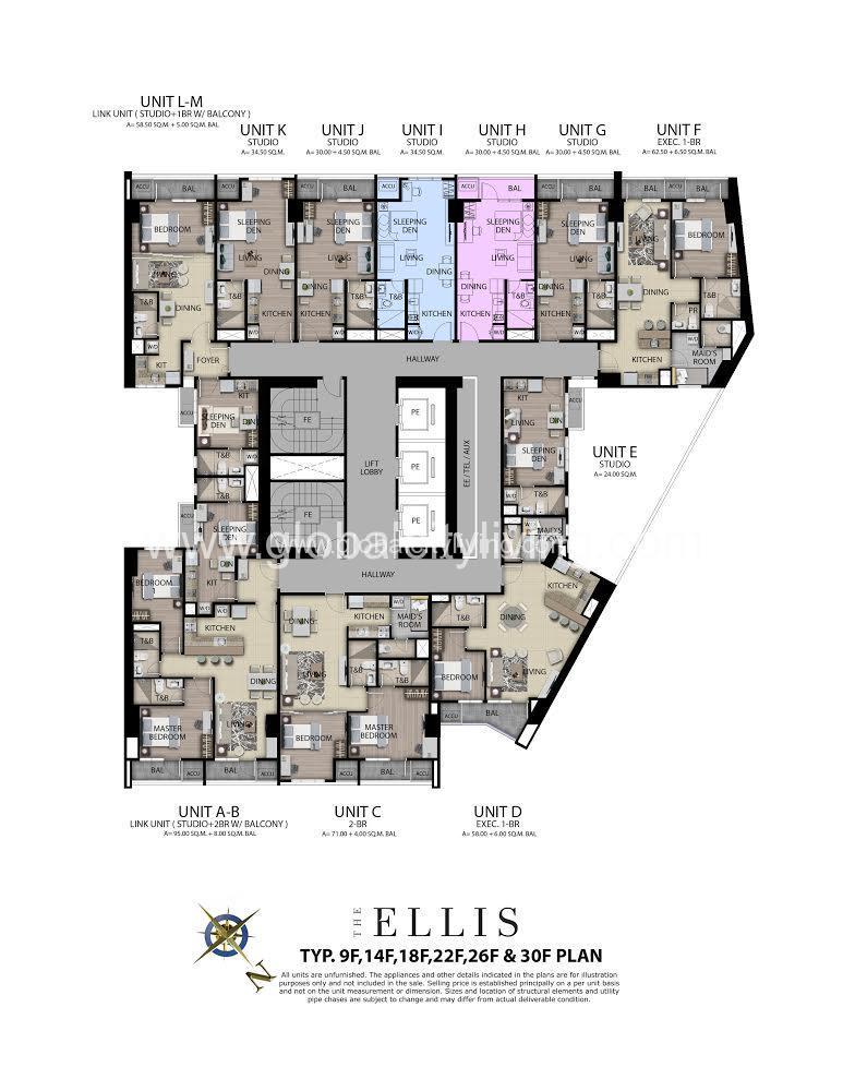 makati-condos-for-sale-ellis-floor-plan