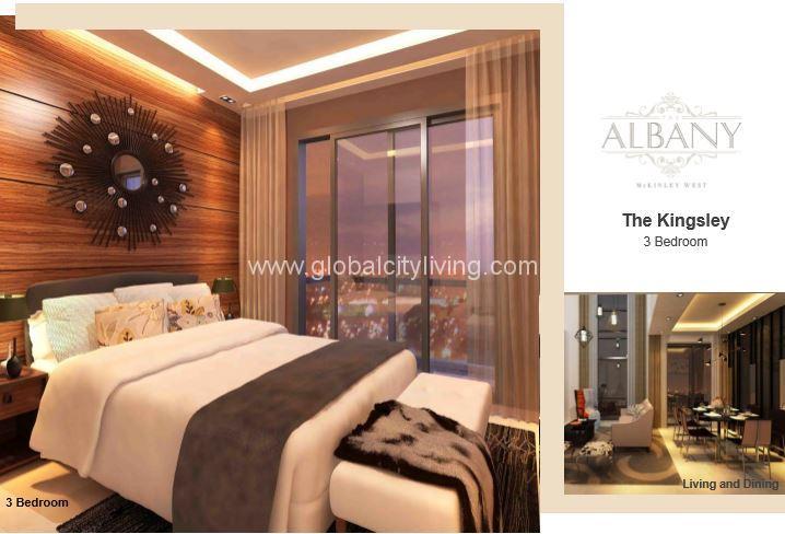 3 Br Luxury Condo For Sale In Mckinley