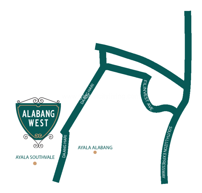 alabang-west-location-map-village-lots-for-sale