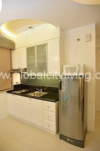Kitchen Studio Condo For Sale in Morgan Suites Mckinley Hill Fort Bonifacio BGC