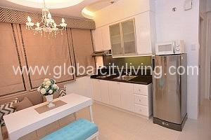 Studio Living Area Condo For Sale Morgan Suites Mckinley Hill