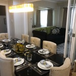 dining area 3br house for sale at forbeswood height bgc
