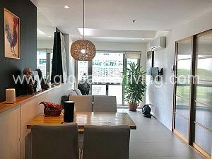dining area forbeswood parklane one bedroom condo for sale bgc