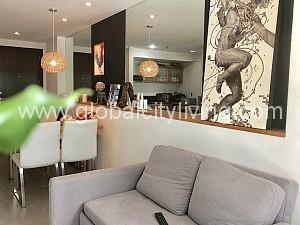 living room forbeswood parklane one bedroom condo for sale bgc