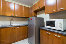 Kitchen Bellagio One Bedroom Condo For Rent