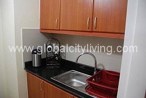 Kitchen One Bedroom Condo For Sale Bellagio Fort Bonifacio Global City Taguig