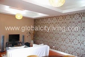 Living Room One Bedroom 1BR Condo For Sale in Fort Bonifacio BGC