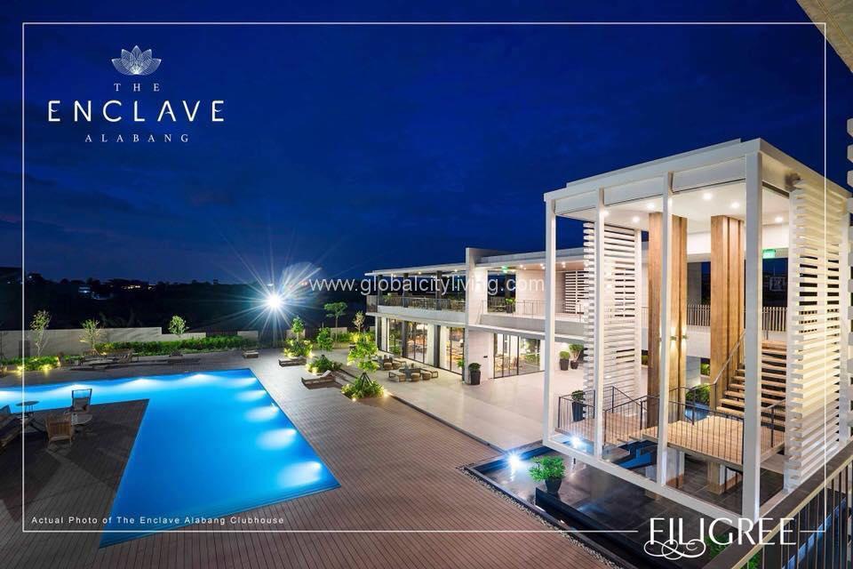 Clubhouse Enclave Alabang Daanghari House and Lot For Sale in Muntinlupa