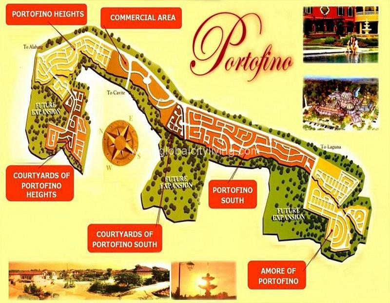 portofino heights location map