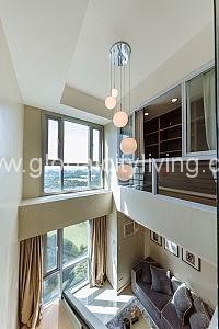 Golf Course View Beautiful Loft Condo For Sale in Bonifacio Global City Taguig BGC
