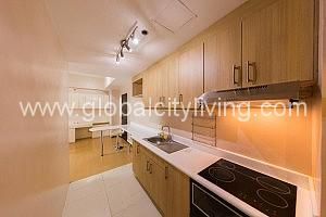 Kitchen One Bedroom 1BR Condo For Sale at Avant at the Fort Bonifacio Global City Taguig