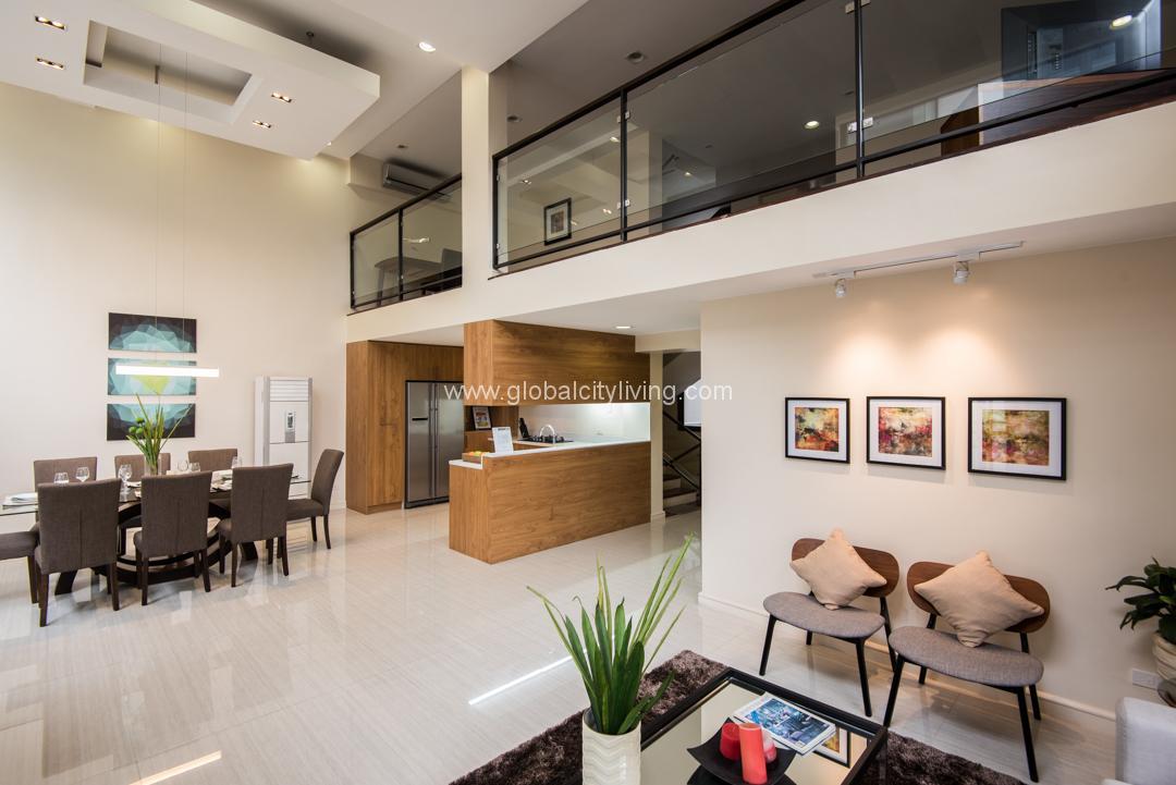 Living Area One Mariposa Townhouse For Sale Quezon City Cubao