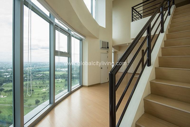 Three Bedrooms 3BR Loft Unit Condo For Sale Facing Golf Course View Avant Fort Bonifacio BGC taguig