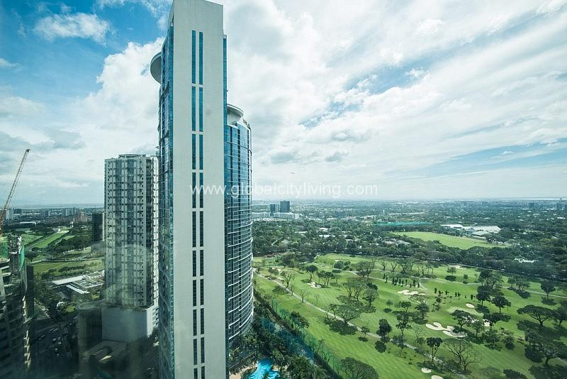 golf course view in avant fort bonifacio global city 4br condos for sale