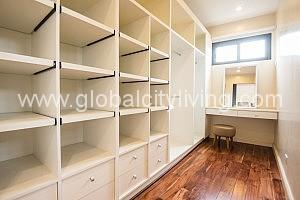 walkin closet one mariposa townhouse for sale quezon city
