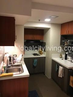 Kitchen One Bedroom Loft in Bellagio Three Condo For Sale Bonifacio Global City