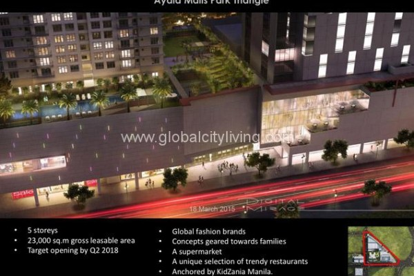 Park Triangle AMENITIES Bonifacio GLobal City Condo For Sale