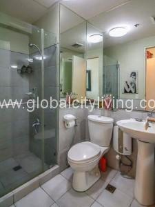 Bathroom One Bedroom 1BR Condo For Sale in Bonifacio Global City