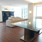 Living Area Two Bedrooms 2br Condo For Sale in Grand Hamptons Bonifacio Global City