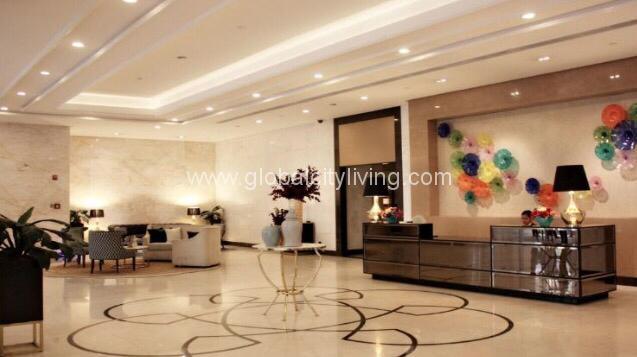 The Venice Luxury Residences Lobby Amenities