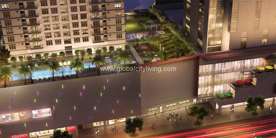 amenity area park triangle condos for sale in bgc fort bonifacio