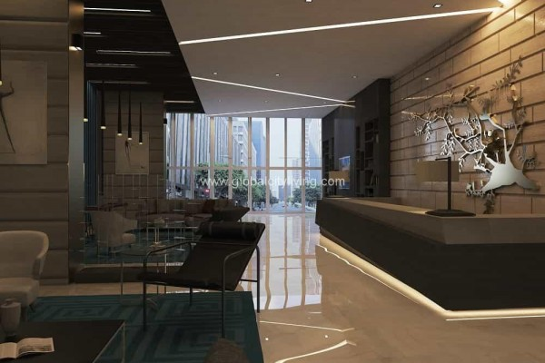 condo for sale bgc park-triangle_GF-lobby-2