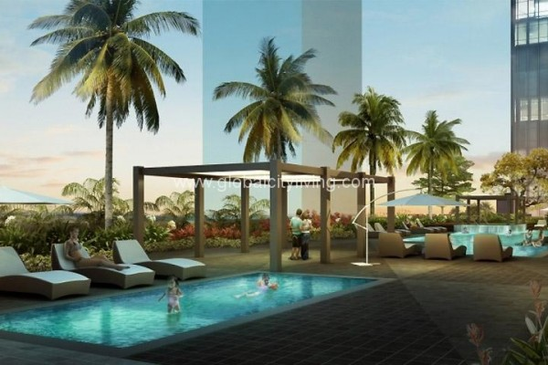 lap pool kiddie pool park triangle condos for sale in bgc fort bonifacio