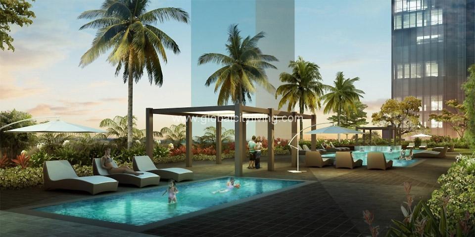 lap pool kiddie pool park triangle condos for sale in bgc fort bonifacio