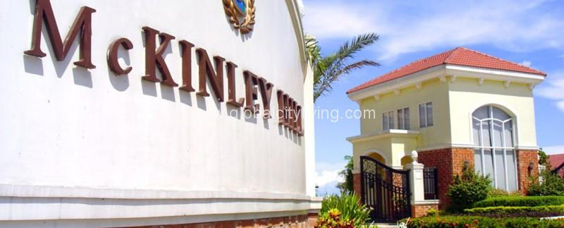 mckinley hill village gate in fort bonifacio bgc