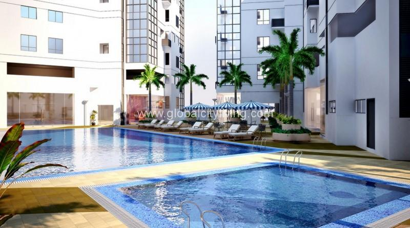 pool amenities fort victoria condo for sale in fort bonifacio global city
