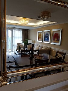 two bedroom living area condo for sale in mckinley hill fort bonifacio
