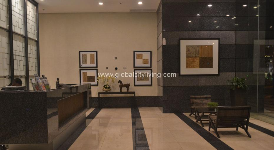 Fort Residences lobby condo for sale in bonifacio global city