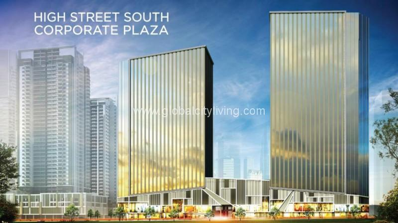 High Street South Corporate Plaza Office