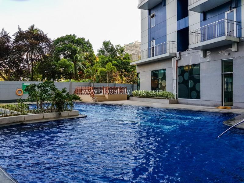 Pool Amenities at Trion Tower Bonifacio Global City Taguig