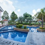 Pool Amenities in Mckinley West Village Fort Bonidaio