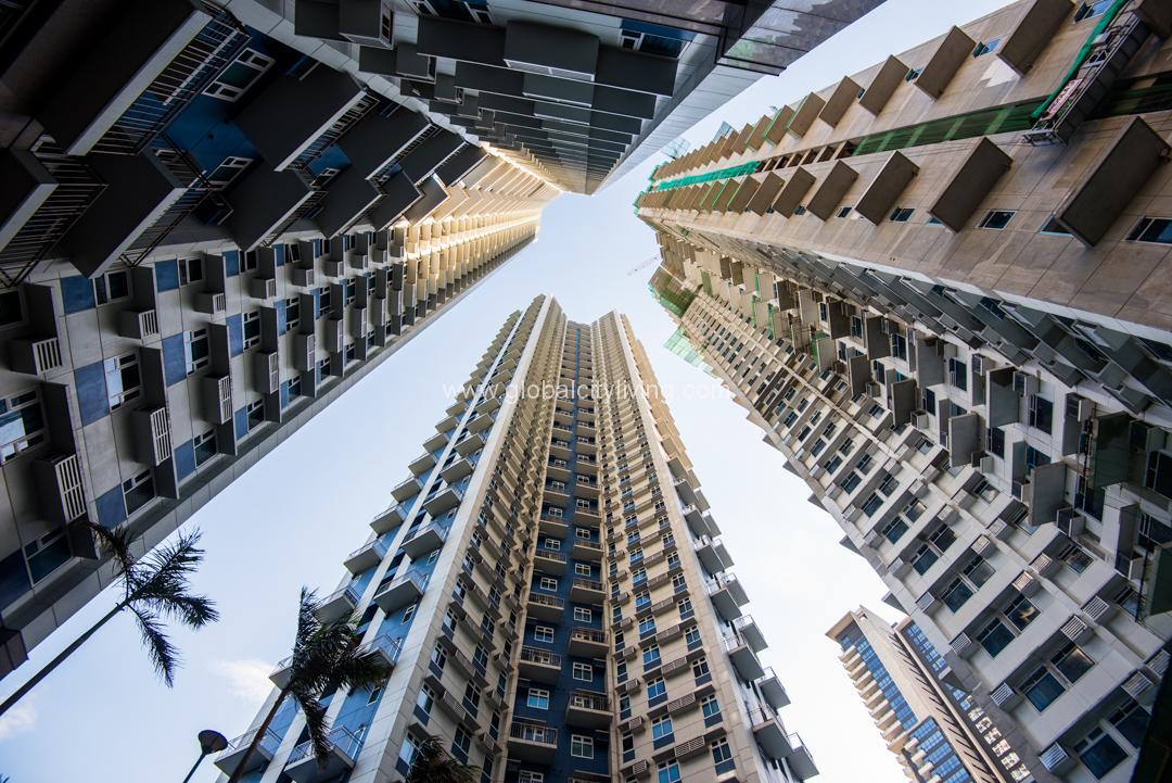 Trion Tower Facade BGC Condominiums For Sale