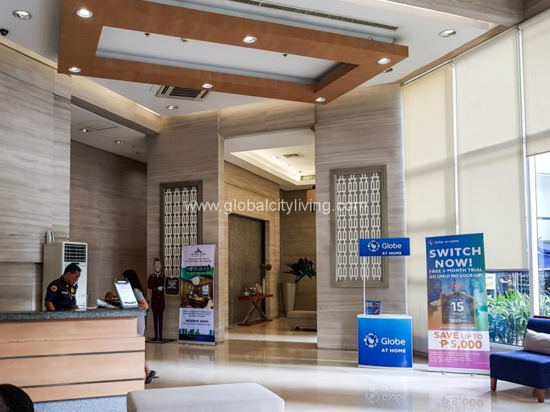 Trion Tower Lobby Condo For Sale in Bonifacio Global City Taguig